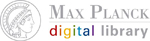 Logo Max Planck digital library